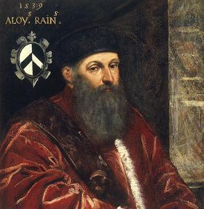 Alvise Renier / Gem.v.G.Contarini - Alvise Renier / Ptg.by G.Contarini - Alvise Renier/Peinture de Contarini