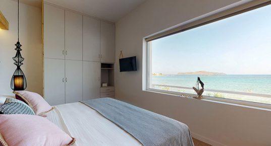 3 bedrooms villa at Glaros beach in Agioi Apostoloi, Chania-Crete
